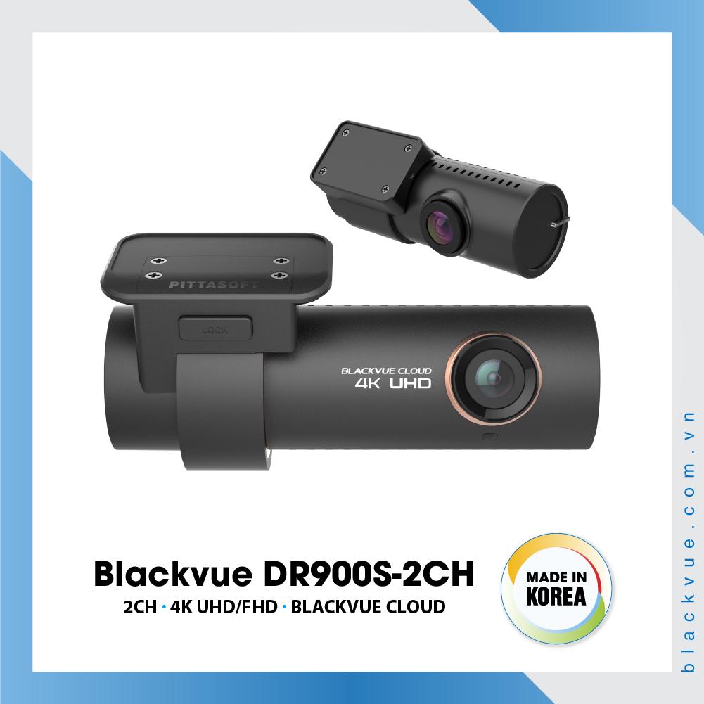 Blackvue DR900S 1000x1000 BlackVue DR900S 2CH 1 - Camera hành trình ô tô 4K DR900S-2CH