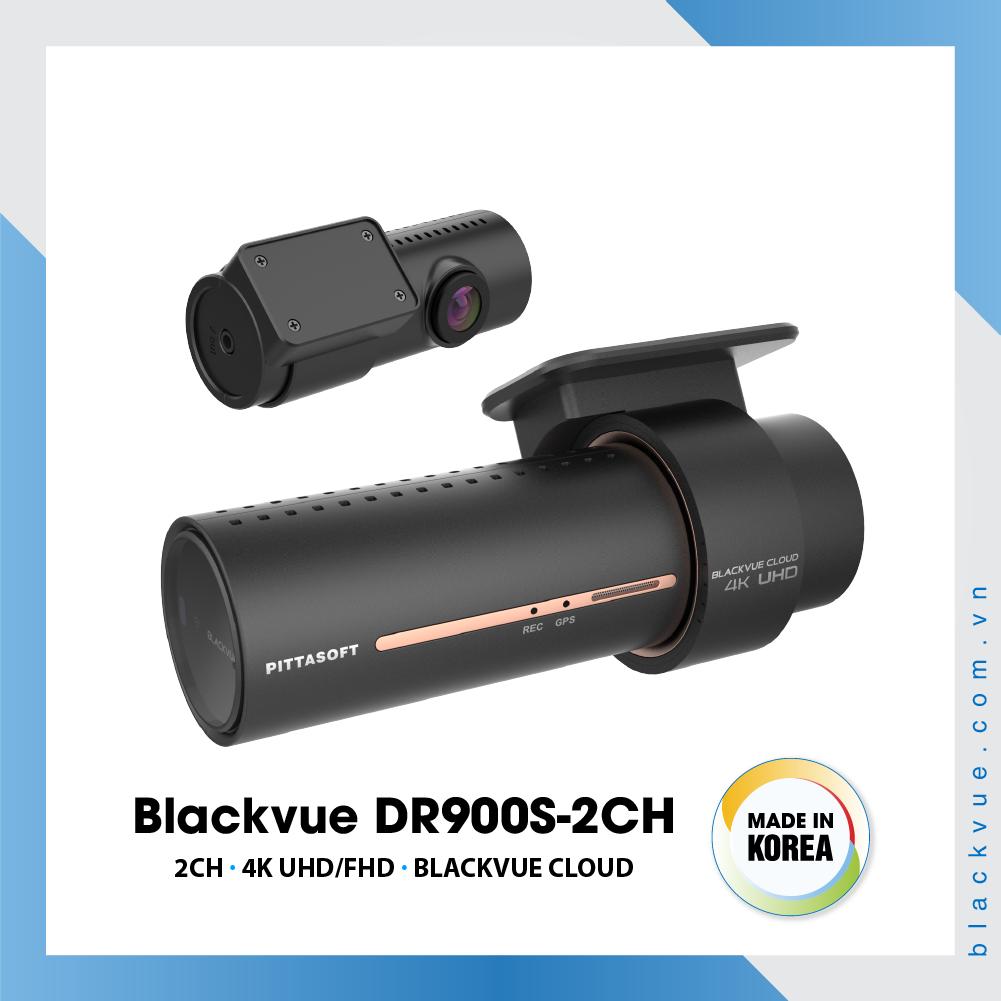 Blackvue DR900S 1000x1000 BlackVue DR900S 2CH 3 - Camera hành trình ô tô 4K DR900S-2CH