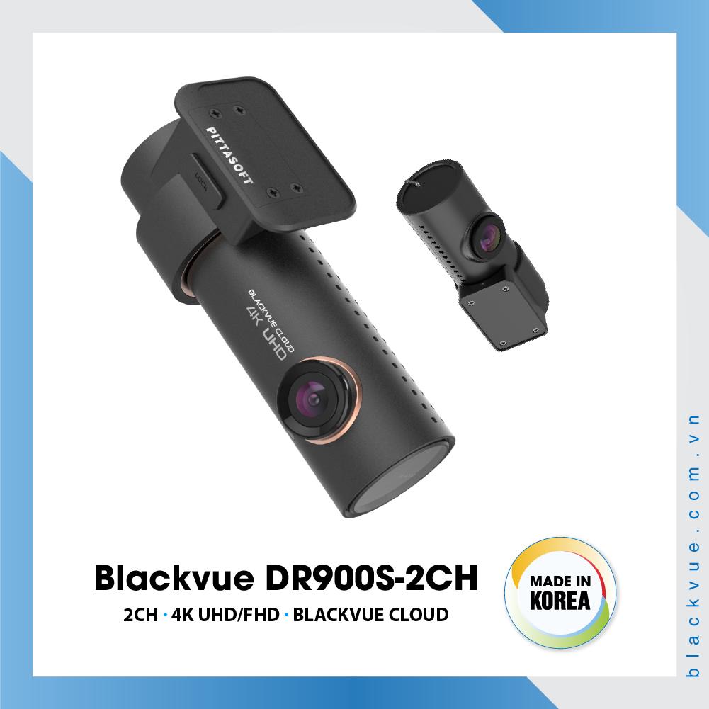 Blackvue DR900S 1000x1000 BlackVue DR900S 2CH 4 - Camera hành trình ô tô 4K DR900S-2CH