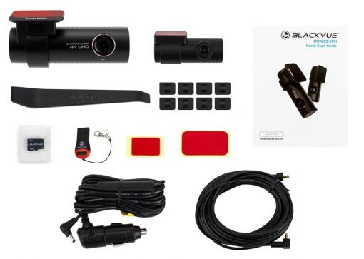 DR900S 2CH pkg 510x363 - Camera hành trình ô tô 4K DR900S-2CH