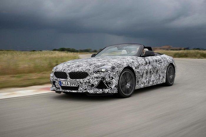 BMW Z4 2019 - Điểm danh những mẫu xe hạng sang sẽ góp mặt trong Paris Motor Show 2018