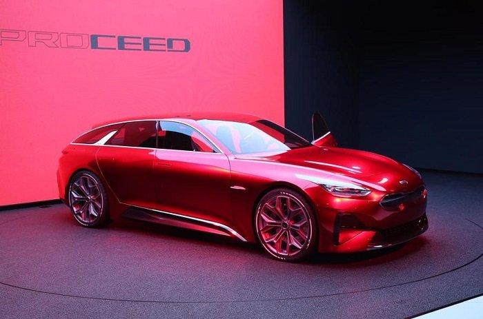 Concept Kia Proceed - Điểm danh những mẫu xe hạng sang sẽ góp mặt trong Paris Motor Show 2018