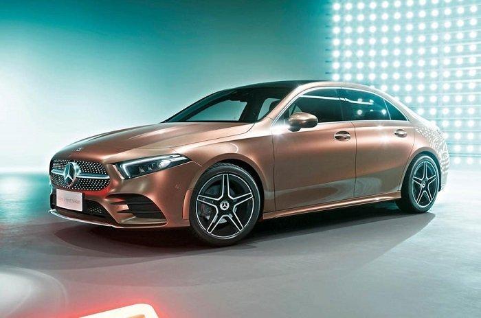 Mercedes Benz A Class L sedan - Điểm danh những mẫu xe hạng sang sẽ góp mặt trong Paris Motor Show 2018