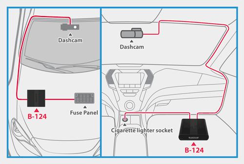 blackvue power magic ultra battery b 124 parking mode ultimate solution - Blackvue ra mắt pin dự phòng Blackvue B-124 tại thị trường Việt Nam