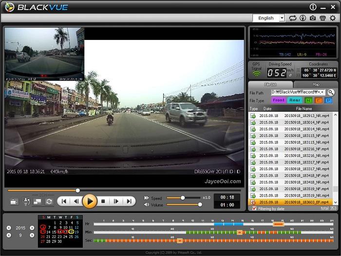 BlackVue PC Viewer - Những lưu ý khi trang bị camera hành trình cho ô tô