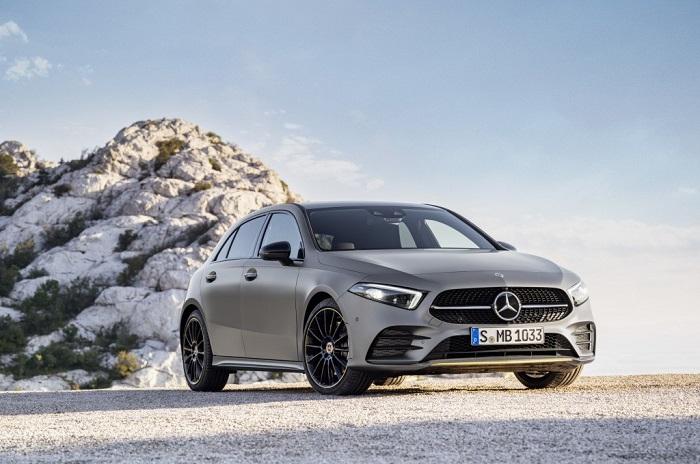 """Mercedes A Class 2018 1 - Choáng ngợp với dàn nội thất """"sang chảnh"""" của Mercedes A-Class 2018"""