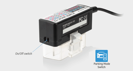 blackvue power magic ez parking mode switch 1 - Ơn giời! Power Magic EZ đã về Việt Nam