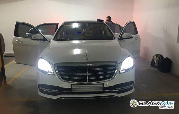 """mercedes 631x400 - Mercedes """"phải lòng"""" Blackvue DR750S"""
