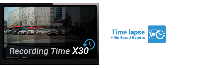 che do time lapse buffered events 1 - Chế độ đỗ xe Parking Mode của Blackvue