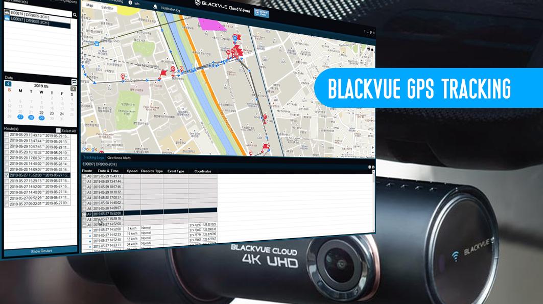 BLACKVUE GPS TRACKING - [Cloud Plans – Fleet Tracking] Bản cập nhật GPS Tracking mới có nhiều tính năng hấp dẫn