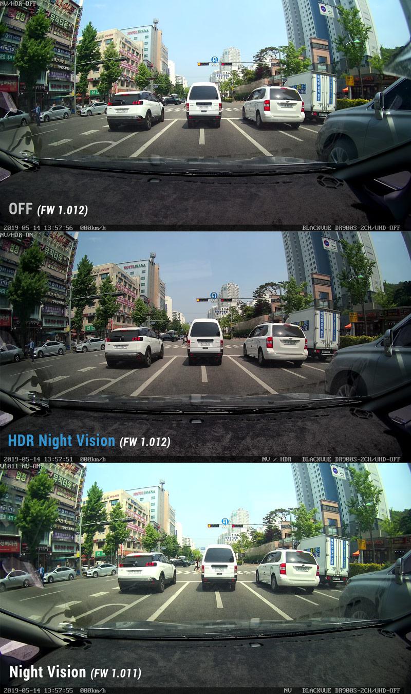 blackvue hdr comparison day 2 1 - Blackvue HDR Night Vision mới - cải thiện chất lượng video cả ngày lẫn đêm