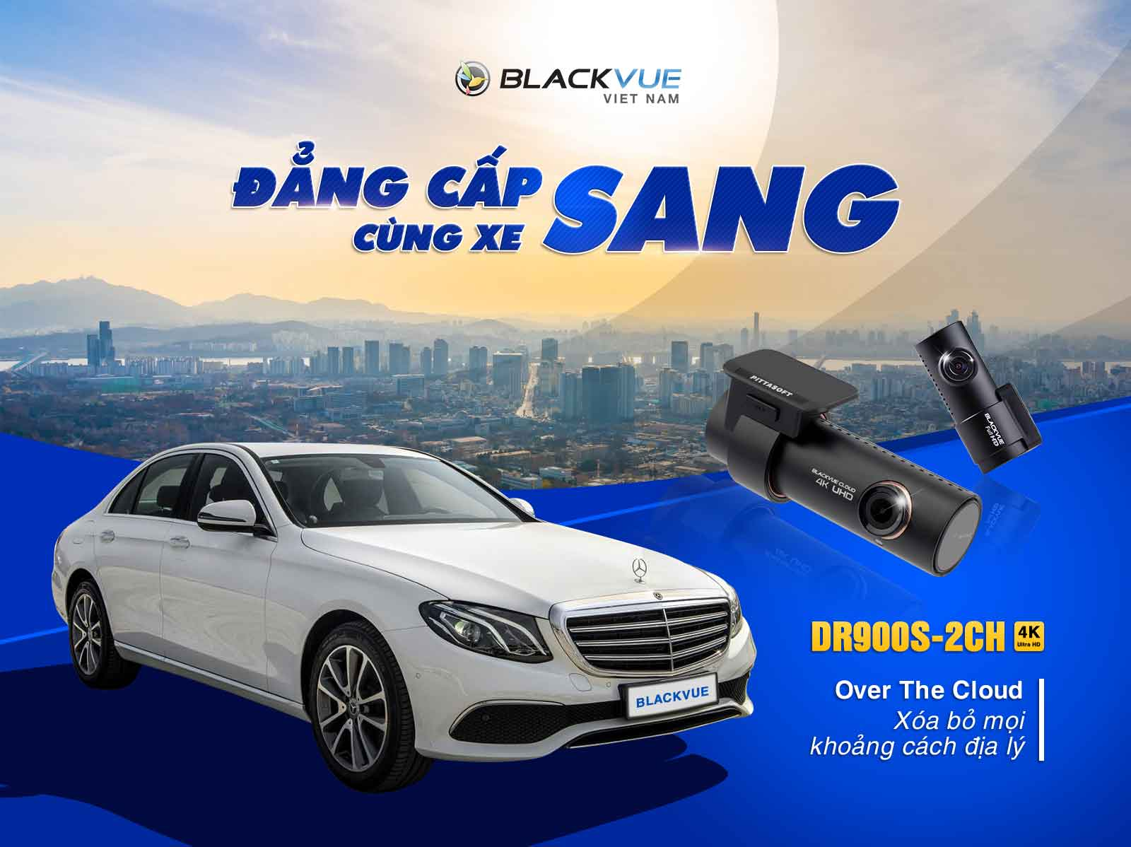 Camera hành trình Blackvue lắp Mercedes