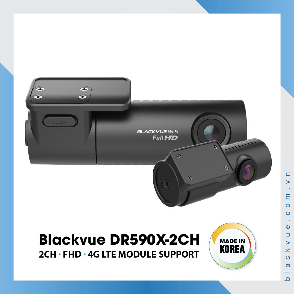 Blackvue DR590X 1000x1000 BlackVue DR590X 2CH 1 - Camera Hành Trình Hàn Quốc Blackvue DR590X-2CH