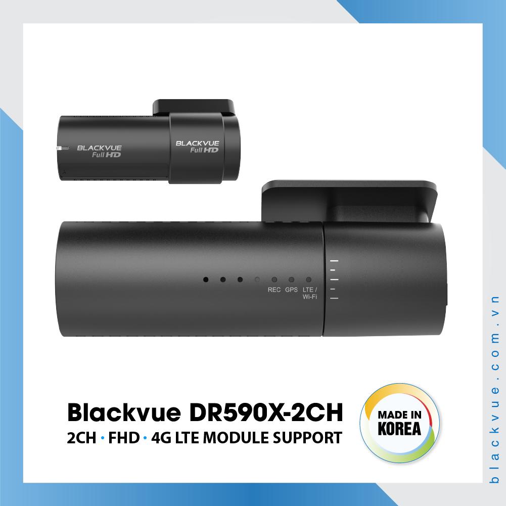 Blackvue DR590X 1000x1000 BlackVue DR590X 2CH 2 - Camera Hành Trình Hàn Quốc Blackvue DR590X-2CH