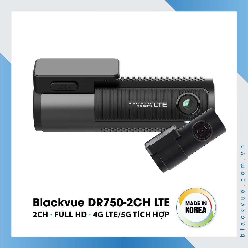 Blackvue DR750 2CH LTE 1000x1000 BlackVue DR750 2CH LTE 1 - Camera hành trình ô tô cao cấp Blackvue DR750-2CH LTE