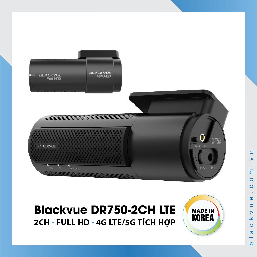 Blackvue DR750 2CH LTE 1000x1000 BlackVue DR750 2CH LTE 2 - Camera hành trình ô tô cao cấp Blackvue DR750-2CH LTE