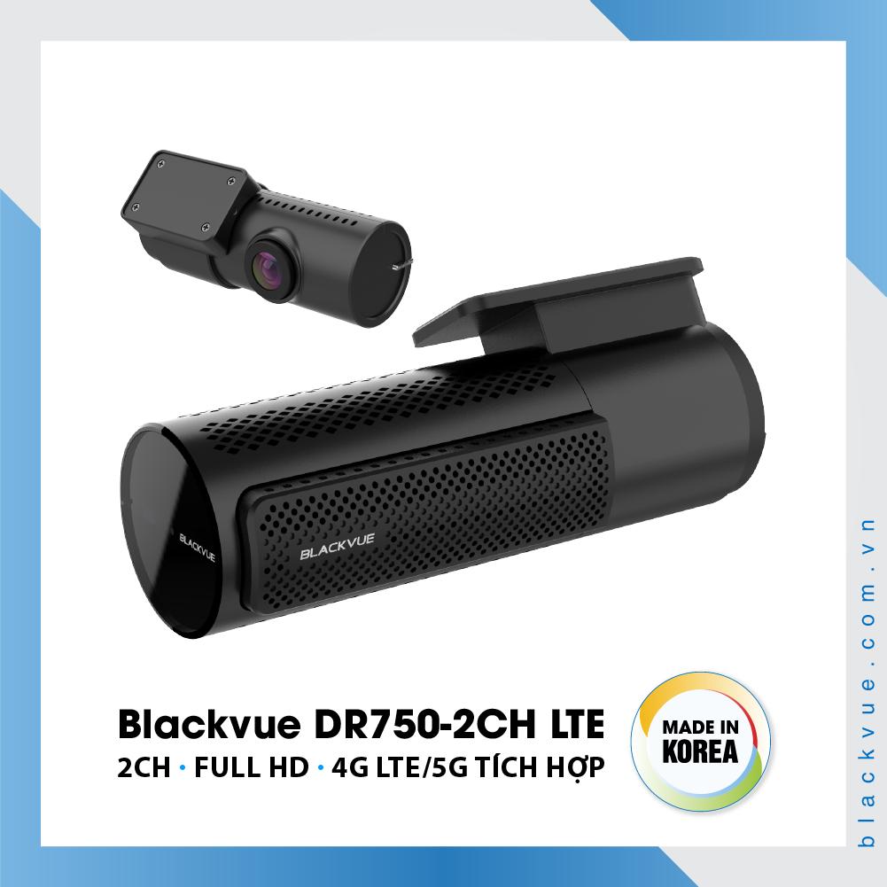 Blackvue DR750 2CH LTE 1000x1000 BlackVue DR750 2CH LTE 3 - Camera hành trình ô tô cao cấp Blackvue DR750-2CH LTE