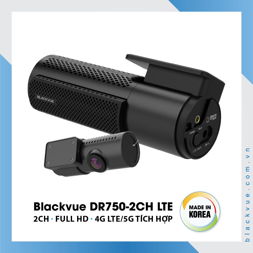 Blackvue DR750 2CH LTE 1000x1000 BlackVue DR750 2CH LTE 4 - Camera hành trình ô tô cao cấp Blackvue DR750-2CH LTE