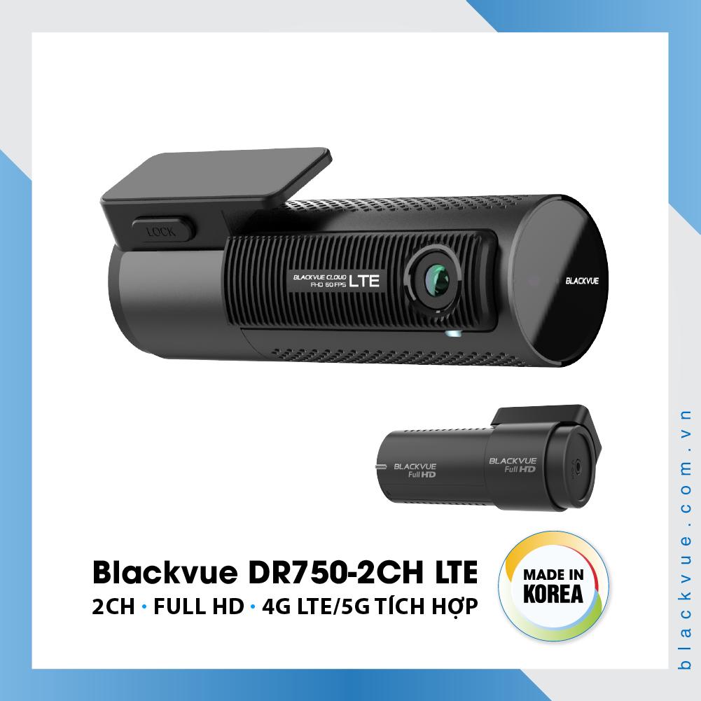 Blackvue DR750 2CH LTE 1000x1000 BlackVue DR750 2CH LTE 5 - Camera hành trình ô tô cao cấp Blackvue DR750-2CH LTE