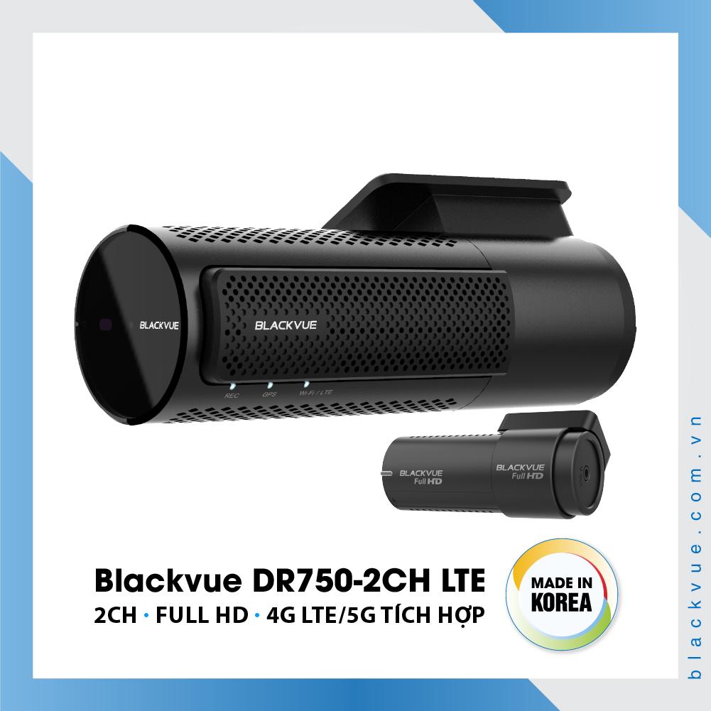 Blackvue DR750 2CH LTE 1000x1000 BlackVue DR750 2CH LTE 6 - Camera hành trình ô tô cao cấp Blackvue DR750-2CH LTE