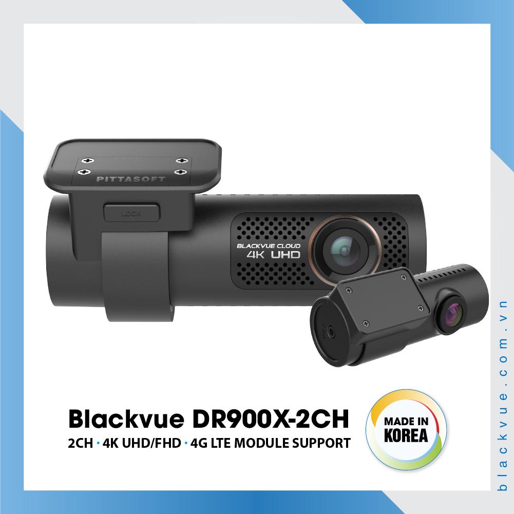 Blackvue DR900X 1000x1000 BlackVue DR900X 2CH 1 - Camera hành trình ô tô 4K DR900X-2CH
