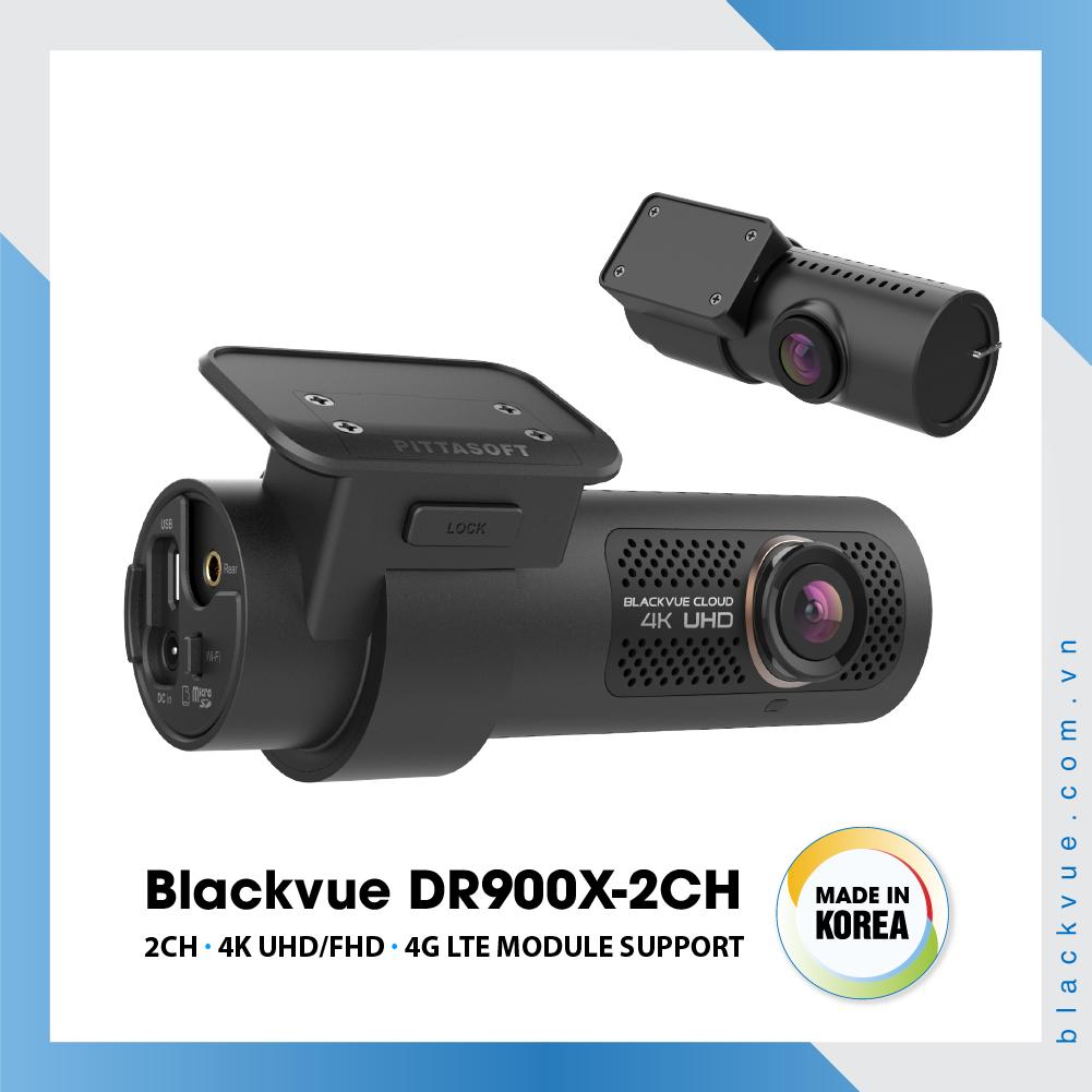 Blackvue DR900X 1000x1000 BlackVue DR900X 2CH 2 - Camera hành trình ô tô 4K DR900X-2CH