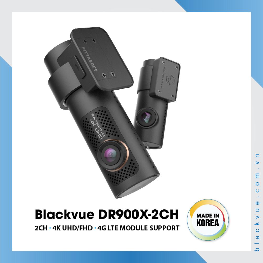 Blackvue DR900X 1000x1000 BlackVue DR900X 2CH 4 - Camera hành trình ô tô 4K DR900X-2CH