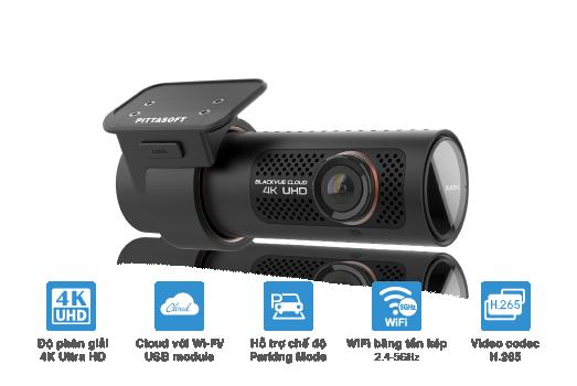 DR900X Series Graphic 002 tieng viet blackvue dr900x 1ch main features - Camera hành trình BLACKVUE 4K DR900X-1CH