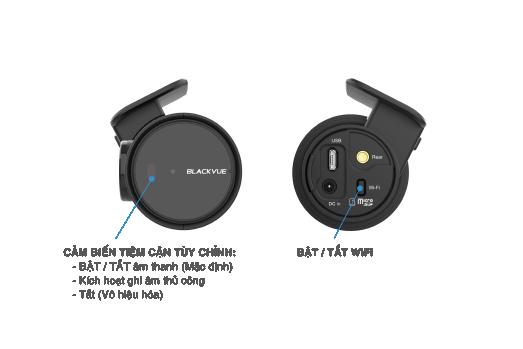 DR900X Series Graphic 002 tieng viet blackvue dr900x 2ch interface button - Camera hành trình ô tô 4K DR900X-2CH