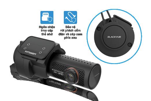 DR900X Series Graphic 002 tieng viet blackvue dr900x series tamper proof case - Camera hành trình ô tô 4K DR900X-2CH