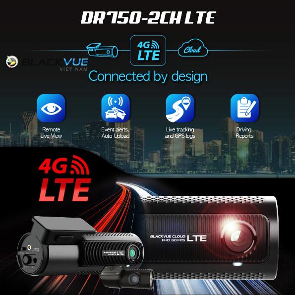 119093046 3281303745271544 7698278629187217764 n 1 - Blackvue DR750-2CH LTE - Công nghệ đỉnh cao, tất cả trong một