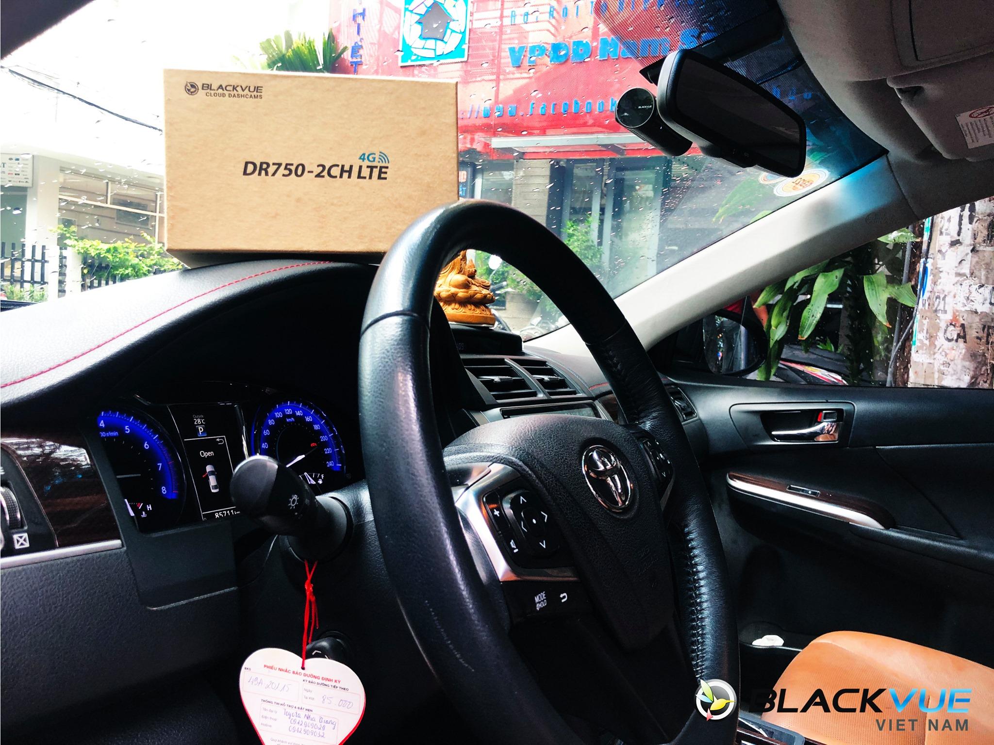 8 - Blackvue DR750-2CH LTE camera hành trình cao cấp chuyên dành cho xe sang