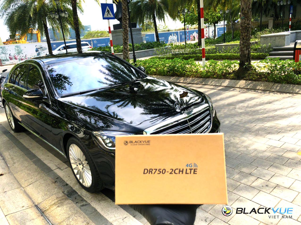 4 - Blackvue DR750-2CH LTE và xe sang?