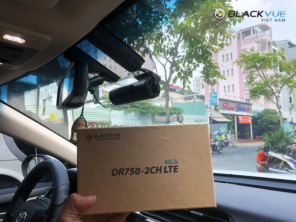 Camera hành trình Blackvue DR750 2CH LTE - Blackvue DR750-2CH LTE camera hành trình bán chạy nhất 1/2021